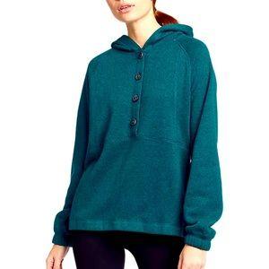 NWT Eddie Bauer Sunray Sweater Fleece Hoodie